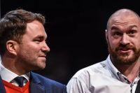 Эдди Хирн считает, что в WBC должны лишить Тайсона Фьюри чемпионского титула