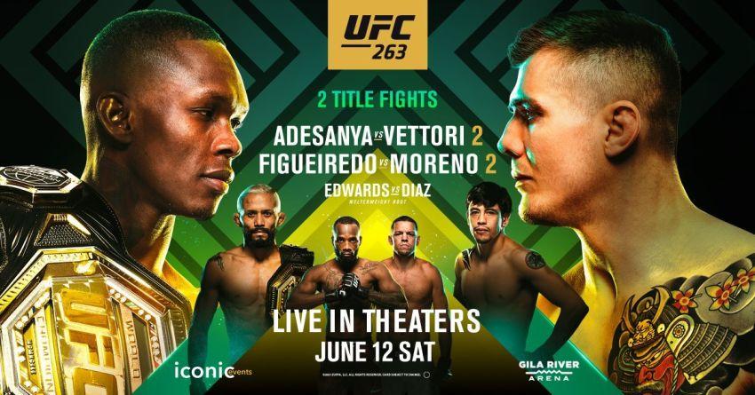 РП ММА №26 (UFC 263): 13 июня