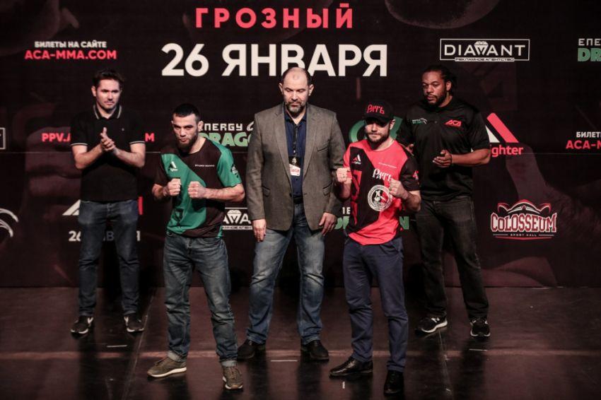 ACA 91: Беслан Исаев нокаутировал Евгения Бондаря