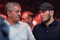 """Абдулманап Нурмагомедов: """"Рады, что в UFC приняли решение провести бой Хабиба с Фергюсоном 18 апреля"""""""