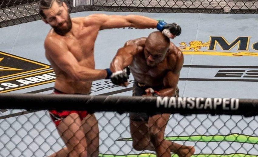 Камару Усман брутально финишировал Хорхе Масвидаля на UFC 261