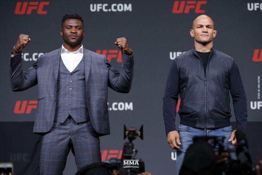 Прогноз на бой Фрэнсис Нганну - Джуниор Дос Сантос на UFC on ESPN 3