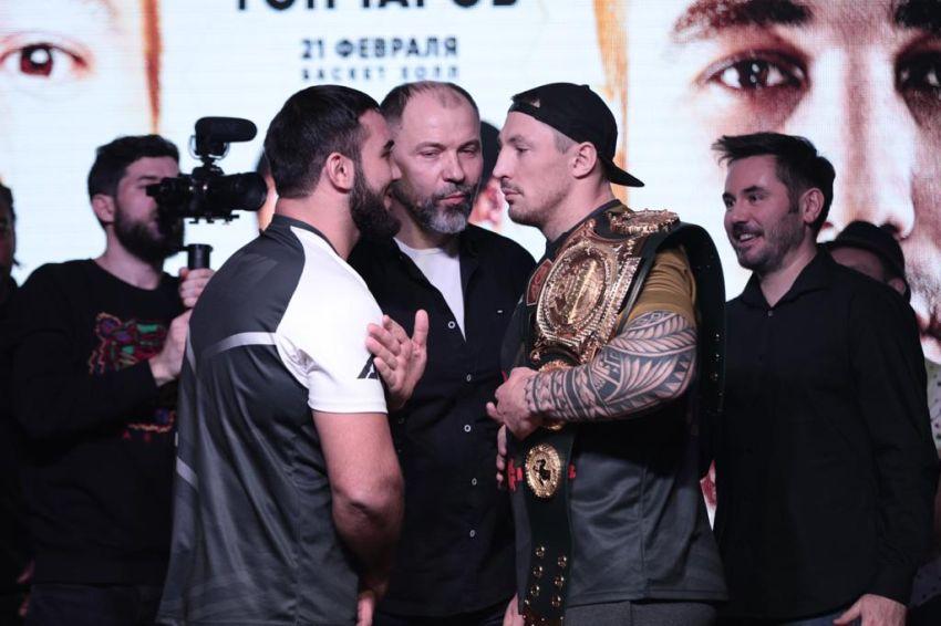 Мухумат Вахаев отобрал чемпионский титул у Евгения Гончарова на ACA 104