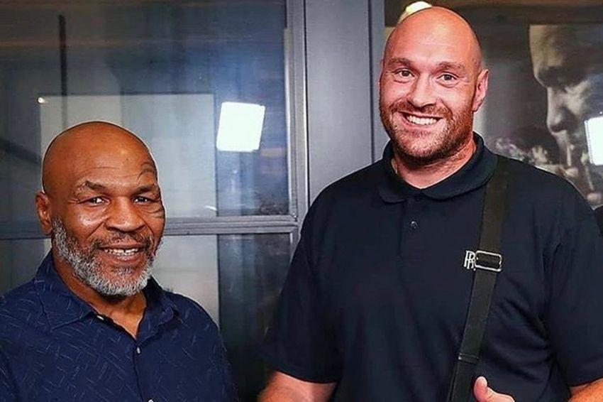 """Майк Тайсон похвалил Фьюри за первый бой с Уайлдером: """"Я даже не думал, что он такой хороший боксер"""""""