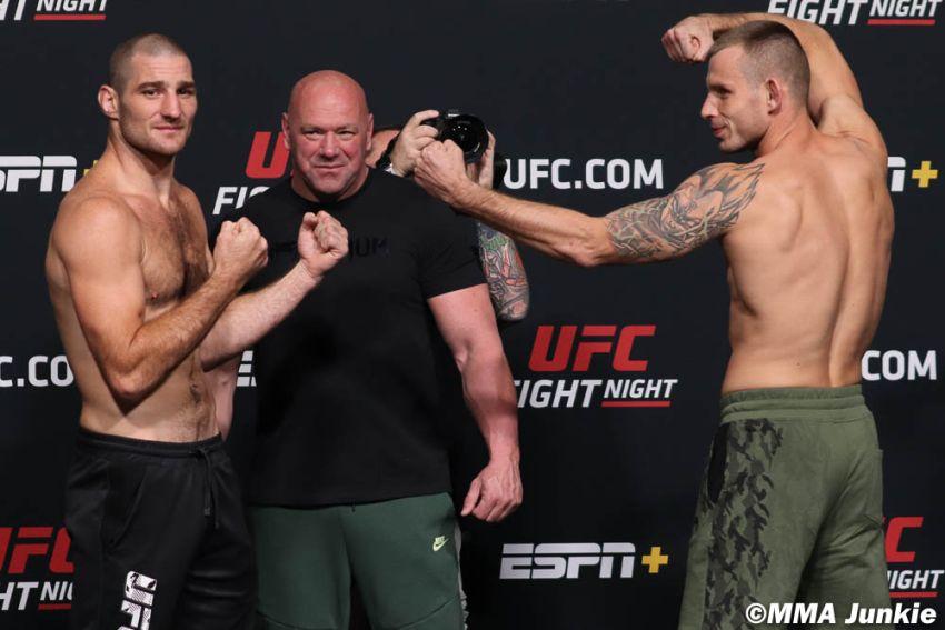 Видео боя Кшиштоф Йотко - Шон Стриклэнд UFC on ESPN 23