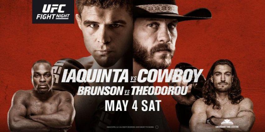 Коэффициенты букмекеров на UFC Fight Night 151: Эл Яквинта - Дональд Серроне