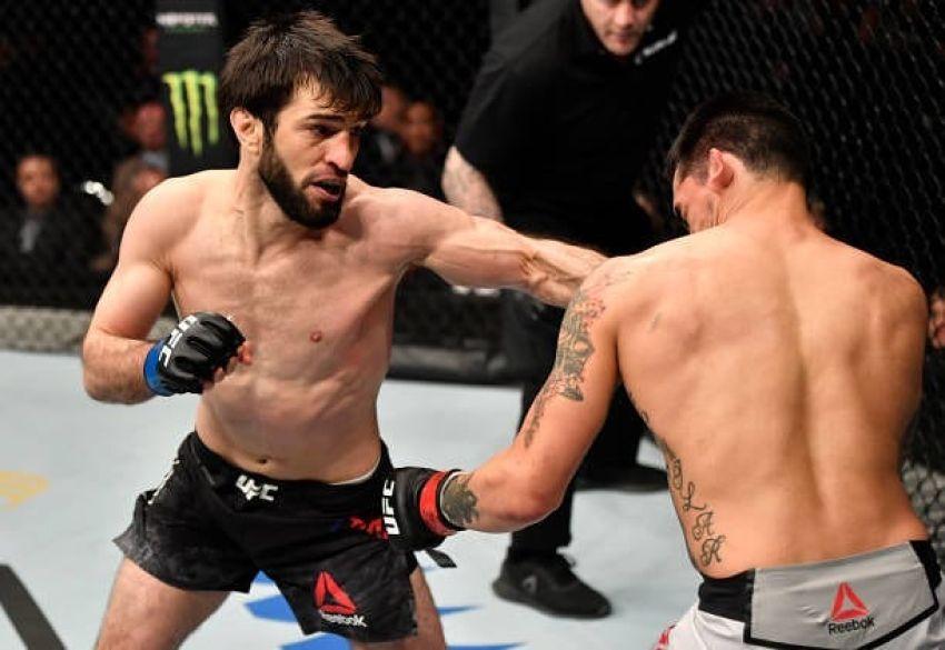 Зубайра Тухугов финишировал Кевина Агилара на UFC Fight Night 168