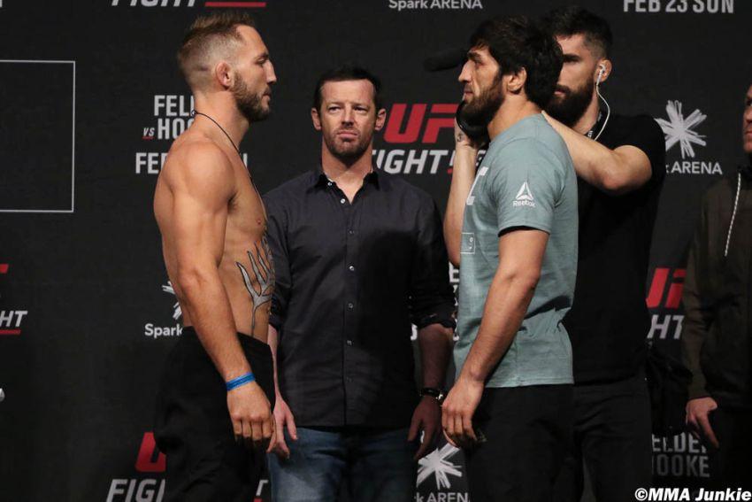 Видео боя Магомед Мустафаев - Брэд Ридделл UFC Fight Night 168