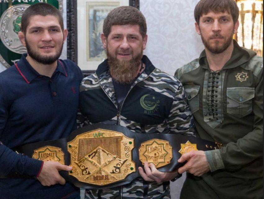 Хабиб Нурмагомедов снова навестил Рамзана Кадырова