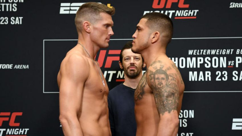 Результаты турнира UFC Fight Night 148: Энтони Петтис - Стивен Томпсон