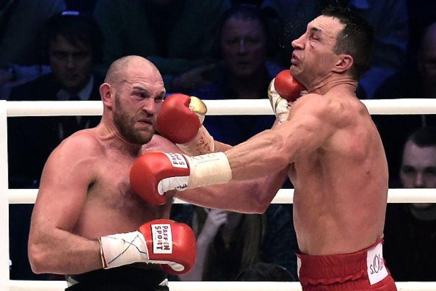 """Тайсон Фьюри: """"Кличко копировал мой стиль в бою с Джошуа"""""""