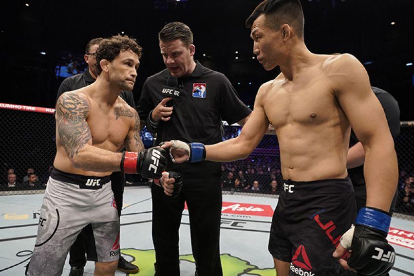 """Медицинские отстранения участников турнира UFC Fight Night 165: Фрэнки Эдгар - """"Корейский Зомби"""""""