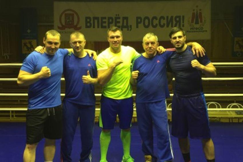 Григорий Дрозд приступил к заключительному этапу подготовки к бою