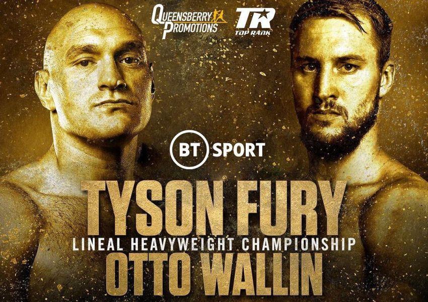 Официально: Тайсон Фьюри - Отто Валлин 14-го сентября в Лас-Вегасе