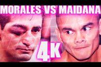 Яркие моменты боя Эрик Моралес - Маркос Майдана в 4K
