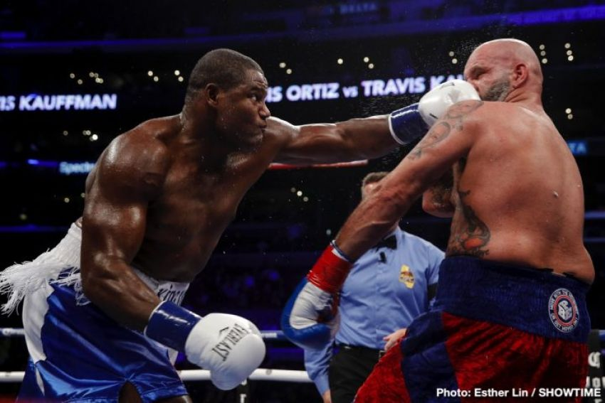 Джошуа готов драться с Ортисом, если не удастся получить бои с Уайлдером и Фьюри