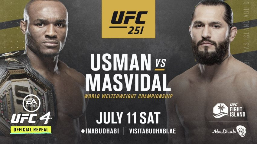 Камару Усман - Хорхе Масвидаль. Прогноз на главный бой UFC 251