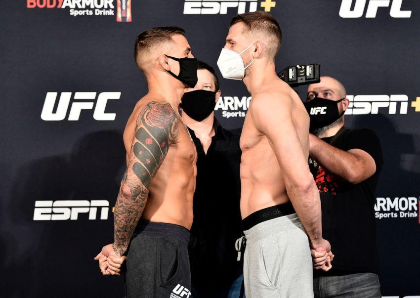 Видео боя Дастин Порье - Дэн Хукер UFC on ESPN 12