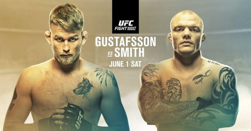 Зарплаты и бонусы участников турнира UFC Fight Night 153: Александр Густафссон - Энтони Смит