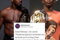 Адесанья назвал Джонса стероидным читером