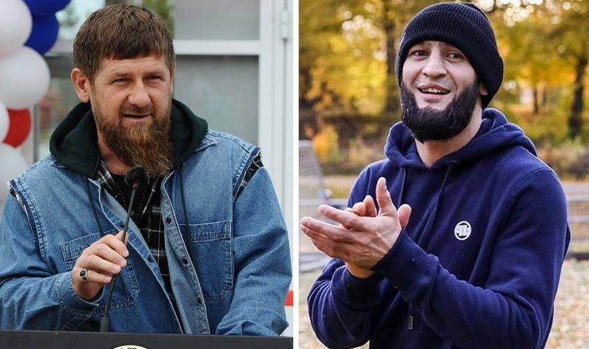 Хамзат Чимаев поборолся с Рамзаном Кадыровым