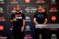 Видео боя Фрэнк Камачо - Бенеил Дариуш UFC Fight Night 162
