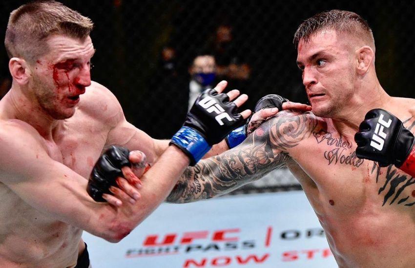 Дастин Порье победил Дэна Хукера в ярком поединке на UFC on ESPN 12