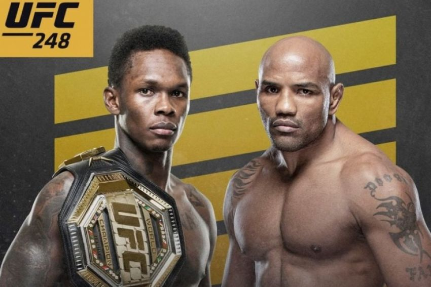 Где смотреть UFC 248: Исраэль Адесанья - Йоэль Ромеро