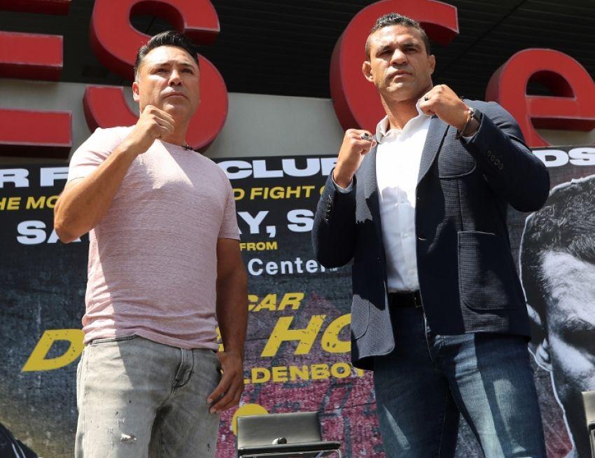 Boxing news: Oscar De La Hoya and Vitor Belfort may fight in November