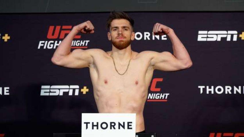 Результаты взвешивания турнира UFC on ESPN+ 31: Дерек Брансон - Эдмен Шахбазян
