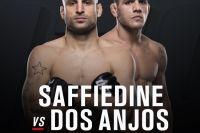 Видео боя Рафаэль дос Аньос - Тарек Саффедин UFC Fight Night 111