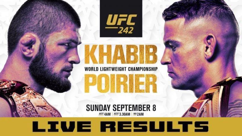 Результаты турнира UFC 242: Хабиб Нурмагомедов - Дастин Порье