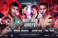 Официально: Matchroom Boxing проведет боксерское шоу 15 августа в США