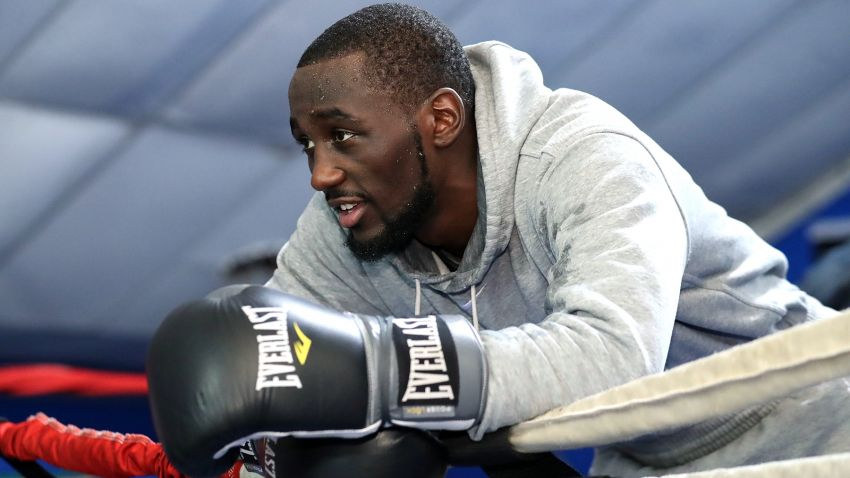 Terence Crawford returns to training to prepare for next fight