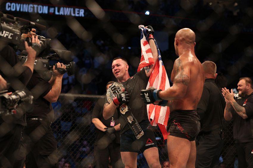 Зарплаты и бонусы участников турнира UFC on ESPN 5: Колби Ковингтон - Робби Лоулер