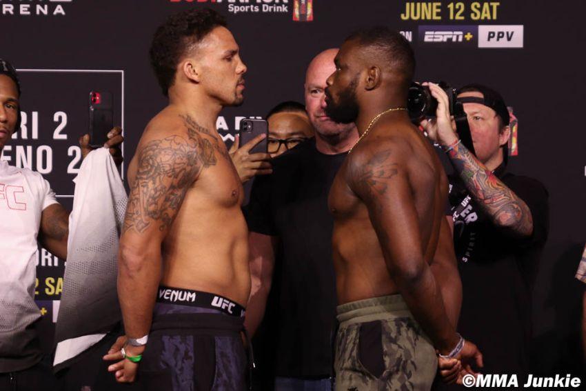Видео боя Эрик Андерс - Даррен Стюарт UFC 263