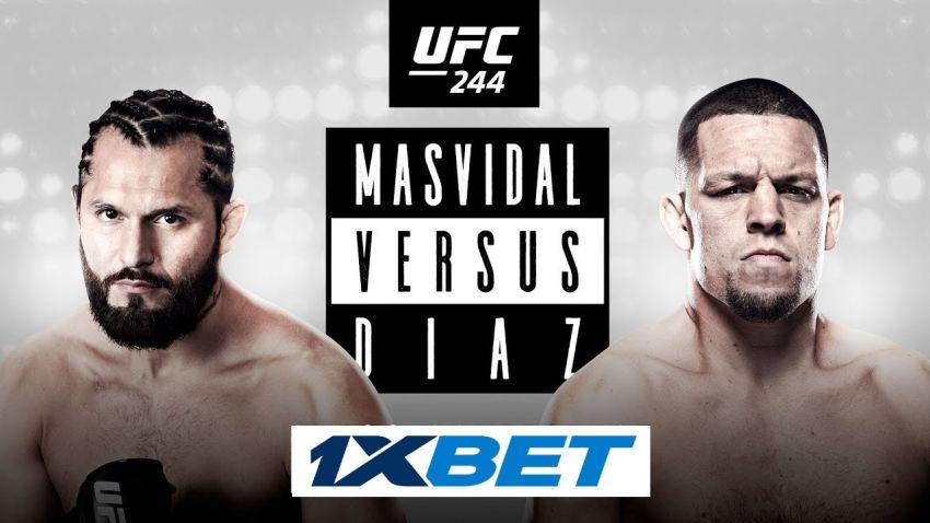Ставки на UFC 244: Коэффициенты букмекеров на турнир Хорхе Масвидаль - Нейт Диас