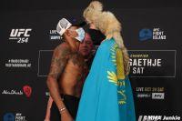 Видео боя Алекс Оливейра - Шавкат Рахмонов UFC 254
