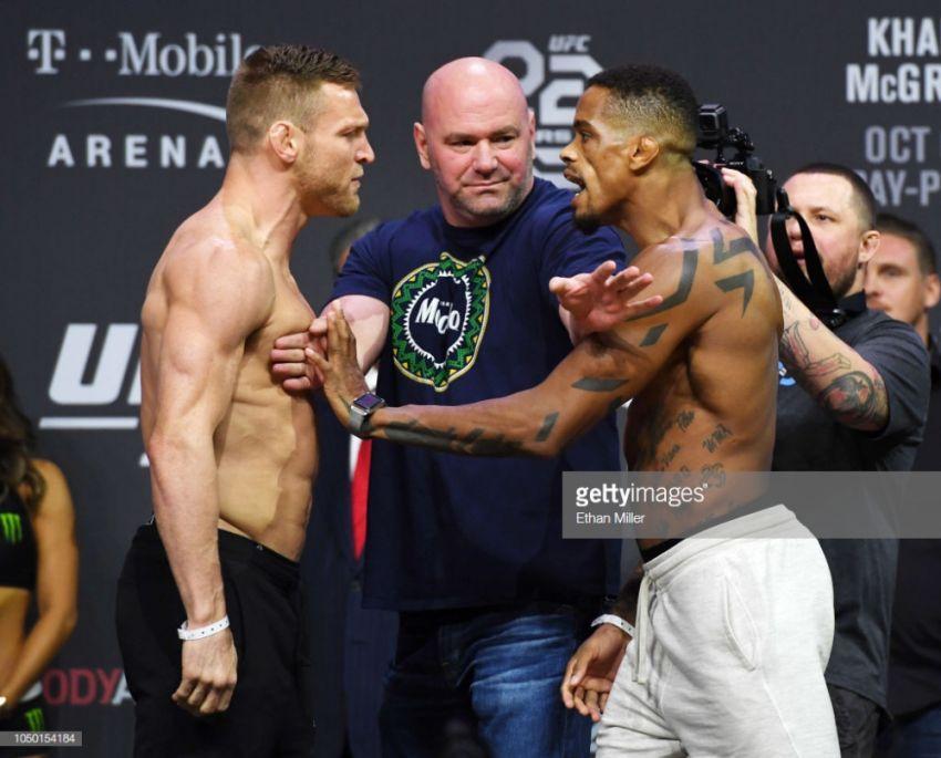 Видео боя Скотт Хольцман - Алан Патрик UFC 229