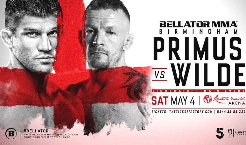 Файткард турнира Bellator Birmingham: Брент Примус - Тим Уайлд