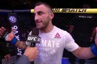 Алекс Волкановски: слова после боя с Жозе Алдо на UFC 237