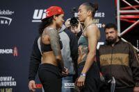 Видео боя Аманда Нуньес - Жермейн Де Рандами UFC 245