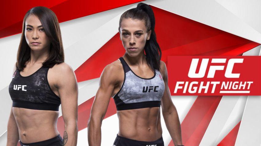 UFC Fight Night 161 Йоанна Енджейчик - Мишель Уотерсон. Смотреть онлайн прямой эфир