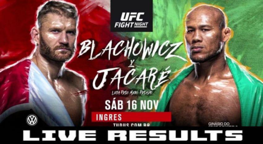 Результаты турнира UFC Fight Night 164: Роналдо Соуза - Ян Блахович
