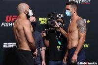 Видео боя Омари Ахмедов - Крис Вайдман UFC on ESPN+ 32