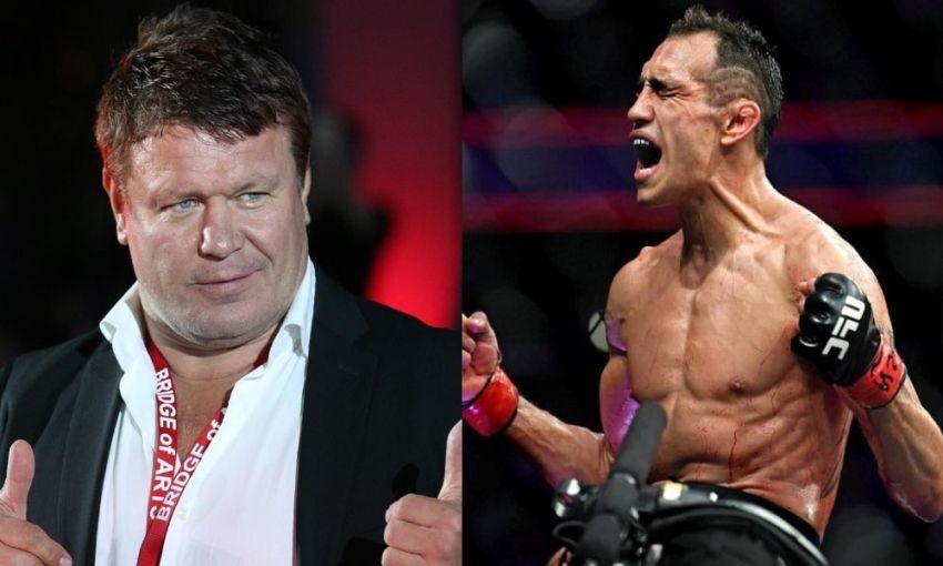 Олег Тактаров взвесил шансы Фергюсона в поединке с Джастином Гэтжи на UFC 249