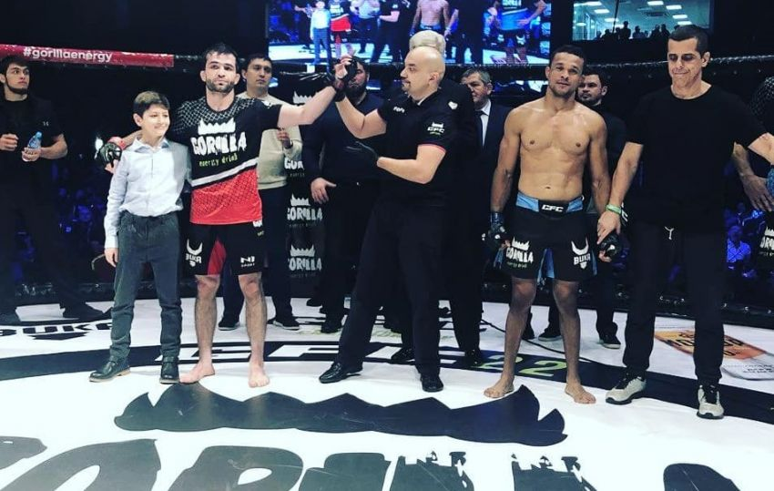 Тимур Валиев победил Тайгро Косту на GFC 22