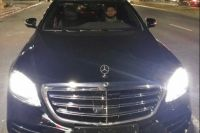 Рамзан Кадыров подарил Хабибу Нурмагомедову Mercedes W222