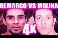 Яркие моменты боя Антонио ДеМарко - Джон Молина в 4K