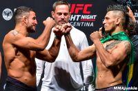 Видео боя Нэд Наримани - Андерсон дос Сантос UFC Fight Night 140